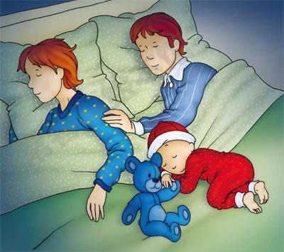 妈妈们知道吗,宝宝出生后和谁一起睡,
